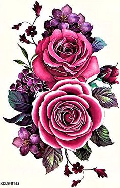 Rosen-Blumen-roter Chic Source rose tattoos, rose tattoos for men, small rose tattoos, rose tattoos Beautiful Flower Tattoos, Beautiful Rose Flowers, Flower Backgrounds, Flower Wallpaper, Rosen Tattoos, Botanical Flowers, Flower Pictures, Flower Art Images, Body Art Tattoos
