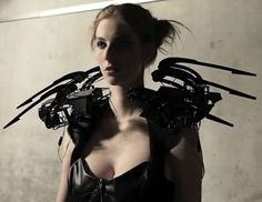This Robotic Spider Dress Will Make Your Skin Crawl [VIDEO]