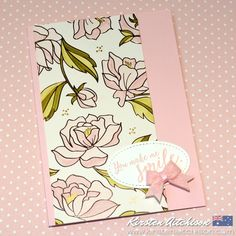 Kirsten Aitchison: Handmade with Love | Sale-A-Bration: Springtime Foils | Click to find out more | #kirstenaitchison #stampinup #crazycrafters #sab #saleabration #blends #stampinblends #blendabilities #specialty #dsp #designerseriespaper #loveitchopit #stitchedshapes #handmade #handmadecard