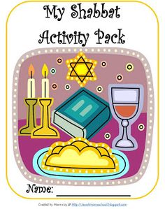 Shabbat Activity Pack (free printable with games and exercises)