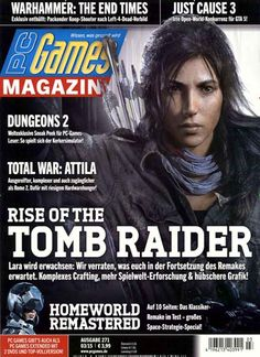 Rise of the Tomb Raider. Gefunden in: PC Games Magazin, Nr. 3/2015