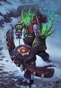 World of Warcraft Troll Archer by AlexKonstad