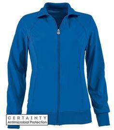 Cherokee Infinity Scrubs Warm-Up Antimicrobial jacket