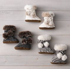 Luxe Faux Fur & Knit | Restoration Hardware Baby & Child
