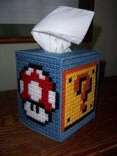 Mario Madness Plastic Canvas! - NEEDLEWORK
