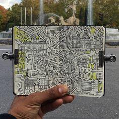 Madrid illustrated map