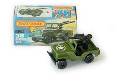 Jeep Armoured - Matchbox 1977 - Series Nr. 38