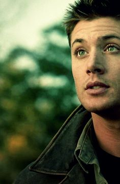 """Dean Winchester is kickin some demon butt in the world today #croatoan He time traveled to August 1, 2014 in Season 2 Episode 9, """"Croatoan"""""""