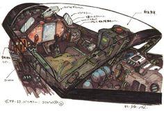 Robotech cockpit color