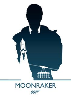Moonraker, James Bond by Phil Beverley, via Behance