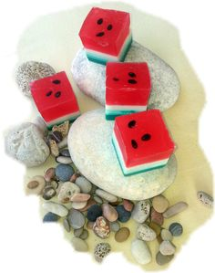 Watermelon glycerine soap
