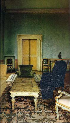 Balthasar Klossowski de Rola's (aka the artist Balthus) home: Le Grand chalet de Rossinière
