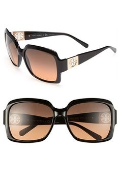 Tory Burch 59mm Oversized Sunglasses available at #Nordstrom
