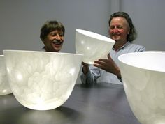 """Arnold ANNEN What type of Porcelain is this? Perhaps the translucent clay named """"Ice"""""""