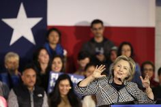 10//18/16 Hillary Clinton Is Competing In Traditionally Red States Like Arizona And Texas : NPR  Is Hillary Clinton Really Trying To Win Texas?  Democratic presidential candidate Hillary Rodham Clinton speaks at a campaign event in Dallas on Nov. 17, 2015. LM Otero/AP