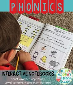 This is a LIFESAVER! Engaging interactive notebook units for short vowels, long vowels, consonant patterns, and vowel patterns. Units include teaching tools and activities to apply each pattern. It's perfect for grades 1-3!