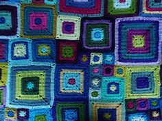 Babette Blanket/LOVE THESE COLORS
