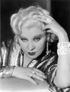 """""""The curve is more powerful than the sword.""""   Mae West"""