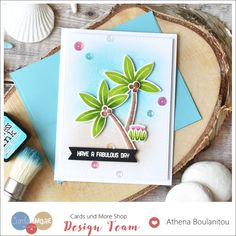 Palm Trees For A Gorgeous Day! | Craft For Joy Designs