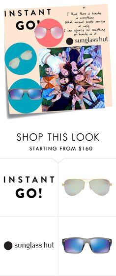 """""""Shades of You: Sunglass Hut Contest Entry"""" by lejla150 ❤ liked on Polyvore featuring Post-It, Tiffany & Co., Oakley, Miu Miu and shadesofyou"""