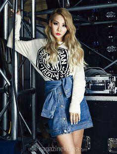 2NE1 CL - Harper's Bazaar Magazine May Issue '14