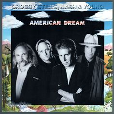 """""""#American #Dream,"""" by the band Crosby, Stills, Nash & Young, peaked at #16 on the Billboard 200 and has been certified platinum by the Recording Industry Association of America (RIAA). There are some excellent songs here, notably #Neil #Young's """"This Old House"""" and #David #Crosby's #Compass. #CrosbyStillsNash&Young #AmericanDream #NeilYOung #CrosbyStillsNashAndYoung #CSNY #Vinyl #LP"""