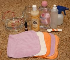 Another baby wipe recipe, all natural refills for pennies:)