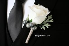 Grooms, Groomsmen, Fathers and usher flowers for weddings.  We make boutonnieres, corsages and buttonholes, perfect for any formal event