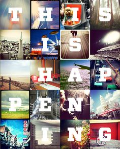 Submit your Instagram images to the Chronicle Instagram book #thisishappening