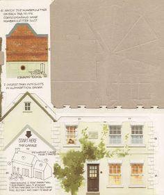Toys & Stuff: Kellogg's UK Paper Village - J.S Winch and Sons Filling Station Pt 2