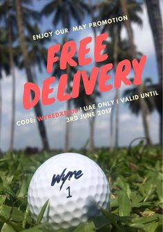 Wow this month Wyre Golf are offering FREE DELIVERY on orders this Month! Not bad for such high quality golf balls sent straight to your door too