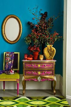 # Frida Kahlo#decoración# furniture# painted furniture @deedidit D.