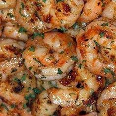 Ruth's Chris New Orleans-Style BBQ Shrimp - It was quick and super easy to recreate. If you are sick of eating the same proteins, give this a try. Your tastebuds will thank you!.