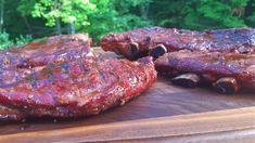 Voici ma méthode pour réussis à tout coups vos ribs de porc sur le BBQ/Fumoir/Four. Coups, Voici, Steak, Grilling, Bbq, Pork, Rib Recipes, Smokehouse, Barbecue