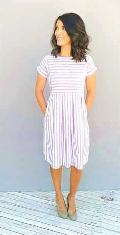 23 Multi Facetted Striped Spring Outfits #stripes #outfit #fashion #spring #summer #women