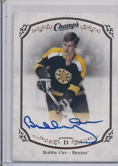 Bobby Orr Autograph from Champs Hockey Bobby Orr 07d9a918f