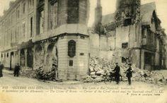 Amicarte 51 Reims: Reims 14-18... Les boches ont l'air surexcités...