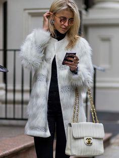 The Latest Street Style Photos From New York Fashion Week via @WhoWhatWear