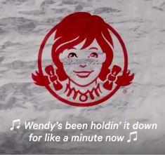 "Wendy's Grills McDonald's, Burger King and Shake Shack on Lit ""We Beefin? Fast Food Games, Wendys Recipe, Whiskey Burger, Hamburger Helper, Shake Shack, Fair Games, Old Quotes, Grills, Crepes"