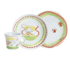 Zestaw porcelany dla dzieci Kids, wróżka, 3 el. Kahla
