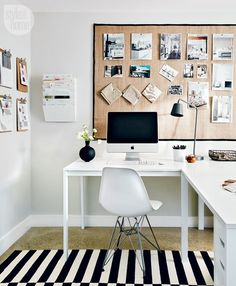 Clutter-free workspace {PHOTO: Michael Graydon}