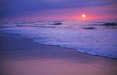 Beautiful Beaches of the Southeastern Atlantic Coast: A North Carolina Sunrise at the Beach