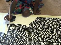 Aboriginal Artist Betty Mbitjana 0856