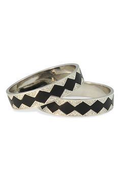 House of Harlow 1960 Silver Sunburst Bangle Set - These House of Harlow bangles are a must-rent this fall! The perfect addition to jazz up any outfit!