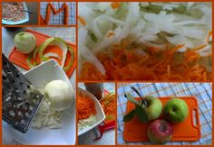 jabłka z drzewa marchewka z ogródka