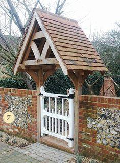 07 Oak Framed Entrance Porch