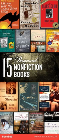 29 nonfiction books to read for adults. Including inspiring books, books that will make you cry, and emotional true stories about childhood, these books are worth a read.