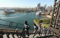 Walk up the Sydney Harbor Bridge