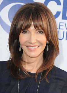 The Best Hairstyles for Women Over 50: Chin-Length Hair is Very Flattering Hair that's multi-dimensional -- meaning has more than one color -- looks much more natural.: