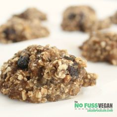 Oatmeal Raisin Cookies Vegan